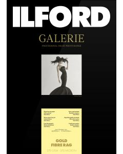 Papier Ilford Galerie Gold Fibre Rag 270g 13x18 50 feuilles