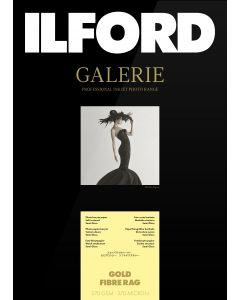 Papier Ilford Galerie Gold Fibre Rag 270g A3+ 25 feuilles