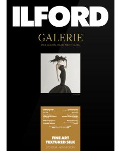 Papier Ilford Galerie Prestige FineArt Textured Silk 270g A2 25 feuilles