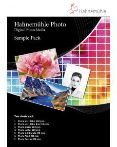 Hahnemühle Photo Media Sample Pack : Pochette  d'échantillon  2 x 7 feuilles - A4