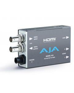 Convertisseur AJA HI5  (HD/SD SDI vers HDMI)