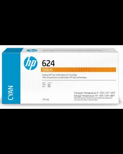 Cartouche HP 624 Stitch à sublimation thermique Cyan 775ml