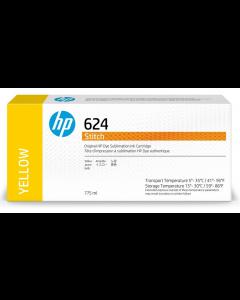 Cartouche HP 624 Stitch à sublimation thermique Jaune 775ml