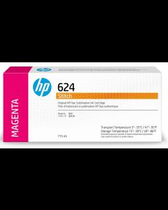 Cartouche HP 624 Stitch à sublimation thermique Magenta 775ml