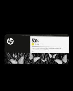 Encre HP 831 Latex Designjet 775ml- Jaune