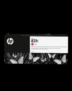 Encre HP 831 Latex Designjet 775ml- Magenta
