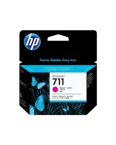 HP 711 Pack de 3 cartouches encre DesignJet Magenta - 29 ml - CZ135A