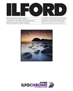 IlfoChrome kit plaque Alu-Blanc-Gloss format 10,16cm x 10,16cm (5 plaques)