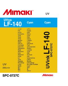 Encre Mimaki LF140 pour UJF3042 - Cyan 220ml (SPC-0727C)
