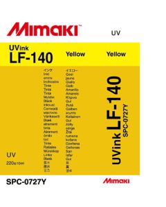 Encre Mimaki LF140 pour UJF3042 - Jaune 220ml (SPC-0727Y)