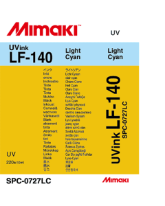 Encre Mimaki  LF140 pour UJF3042 - Light Cyan 220ml (SPC-0727LC)