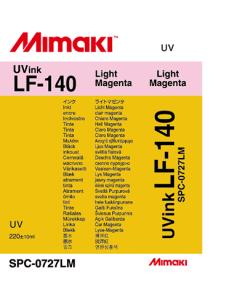 Encre Mimaki LF140 pour UJF3042 - Light Magenta 220ml (SPC-0727LM)