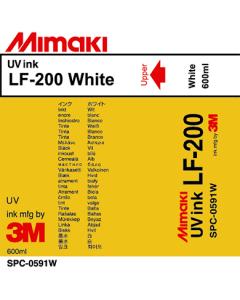 Encre Mimaki Très Souple LF200 pour UJV / JFX - Blanc 600ml (SPC-0591W)