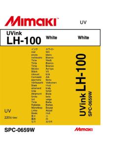 Encre Mimaki rigide LH100 pour UJV3042 - Blanc 220ml