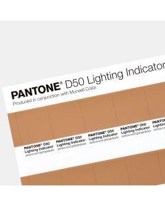 Pantone Lighting Indicator Stickers - D50