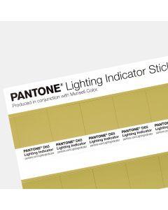 Pantone Lighting Indicator Stickers - D65