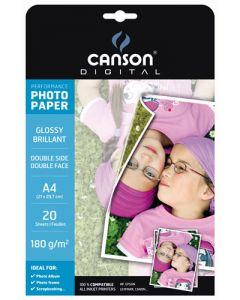 Papier Canson Digital Performance Photo Brillant 210g, A3 50 feuilles