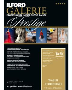 Papier Ilford Galerie Prestige Washi Torinoko 110g A3+ 25 feuilles