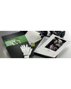 Hahnemuhle Portfolio Box : Coffret  Agave 290g A3+ 50 feuilles + 2 Gants + 3 Certificats