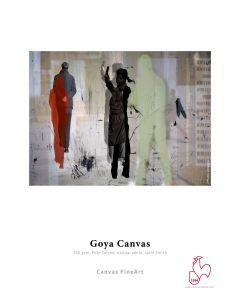 Papier Hahnemühle Goya canvas 340g, 610mmx12m