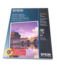 Papier Epson Mat Epais, 167g, A4 50 feuilles