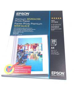 Papier Epson Photo Premium Semi-Glacé, 251g, A4 20 feuilles