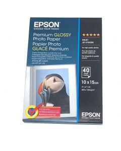 Papier Epson Photo Premium Glacé 255g, 10 x 15cm, 40 feuilles