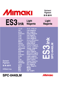 Encre Mimaki ES3 pour JV33, JV5, CJV - Light Magenta 440ml (SPC-0440LM)
