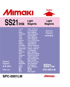 Encre Mimaki SS21 pour JV33, JV34, JV5, CJV - Light Magenta 440ml (SPC-0501LM)