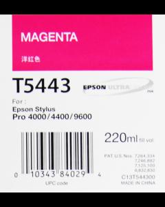 EPSON T5443 (C13T544300) : magenta, 220ml