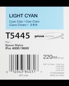 EPSON T5445 (C13T544500) : cyan clair, 220ml