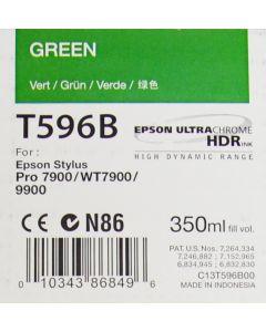 EPSON T596B (C13T596B00) - Cartouche d'encre Verte 350ml