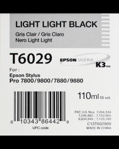 EPSON T6029 (C13T602900) - Gris Clair 110ml