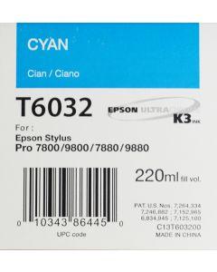 EPSON T6032 (C13T603200) - Cyan 220ml
