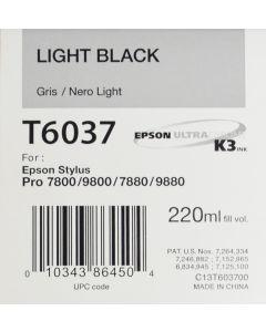 EPSON T6037 (C13T603700) - Gris 220ml