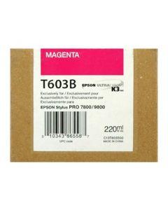EPSON T603B (C13T603B00) - Magenta 220 ml
