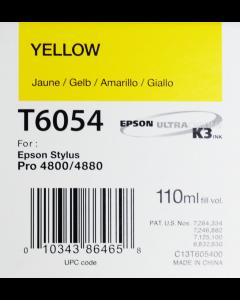 EPSON T6054 (C13T605400) - Jaune 110ml