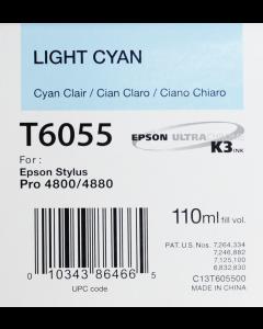 EPSON T6055 (C13T605500) - Cyan Clair 110ml