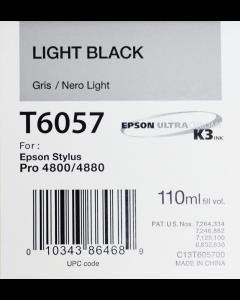 EPSON T6057 (C13T605700) - Gris 110ml