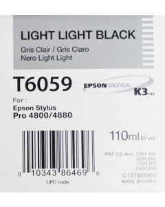 EPSON T6059 (C13T605900) - Gris Clair 110ml