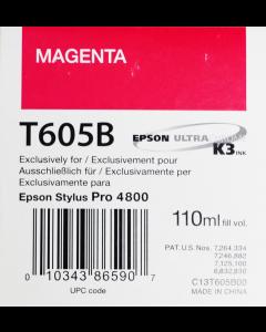 EPSON T605B (C13T605B00) - Magenta 110ml