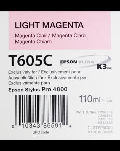 EPSON T605C (C13T605C00) - Magenta Clair 110ml