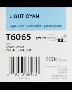 EPSON T6065 (C13T606500) Cyan Clair 220ml