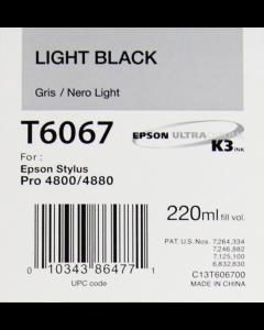 EPSON T6067 (C13T606700) - Gris 220ml