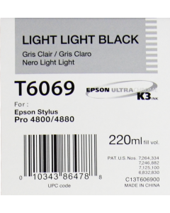EPSON T6069 (C13T606900) - Gris Clair 220ml
