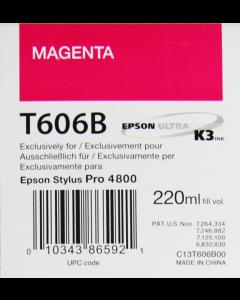 EPSON T606B (C13T606B00) - Magenta 220ml