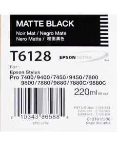 EPSON T6128 (C13T612800) - Noir Mat  220 ml