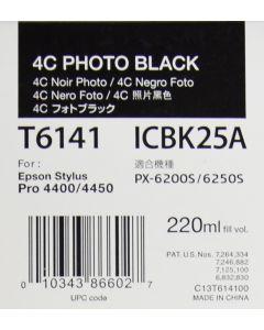 EPSON T6141 (C13T614100) Encre Noir Photo 220ml