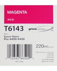 EPSON T6143 (C13T614300) Encre Magenta 220ml