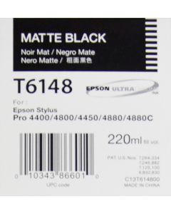 EPSON T6148 (C13T614800) Encre Noir Mat 220ml